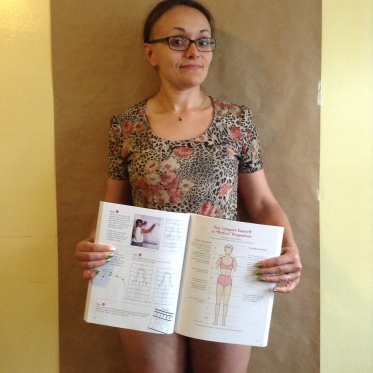 Me with my Body Graph!